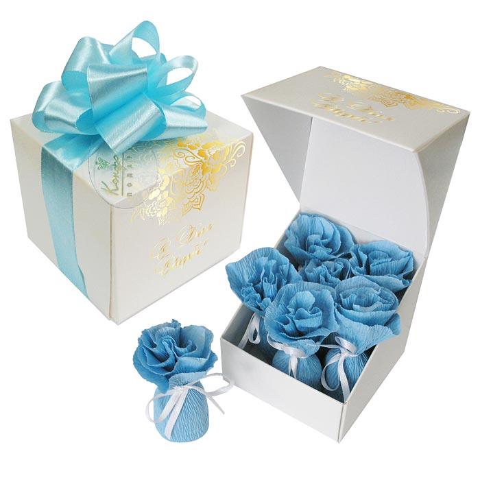 Вкусный шоколадный подарок на еврейскую свадьбк, символизирующий семь благословений!