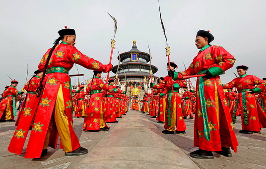 Традиции китайского нового года в китае