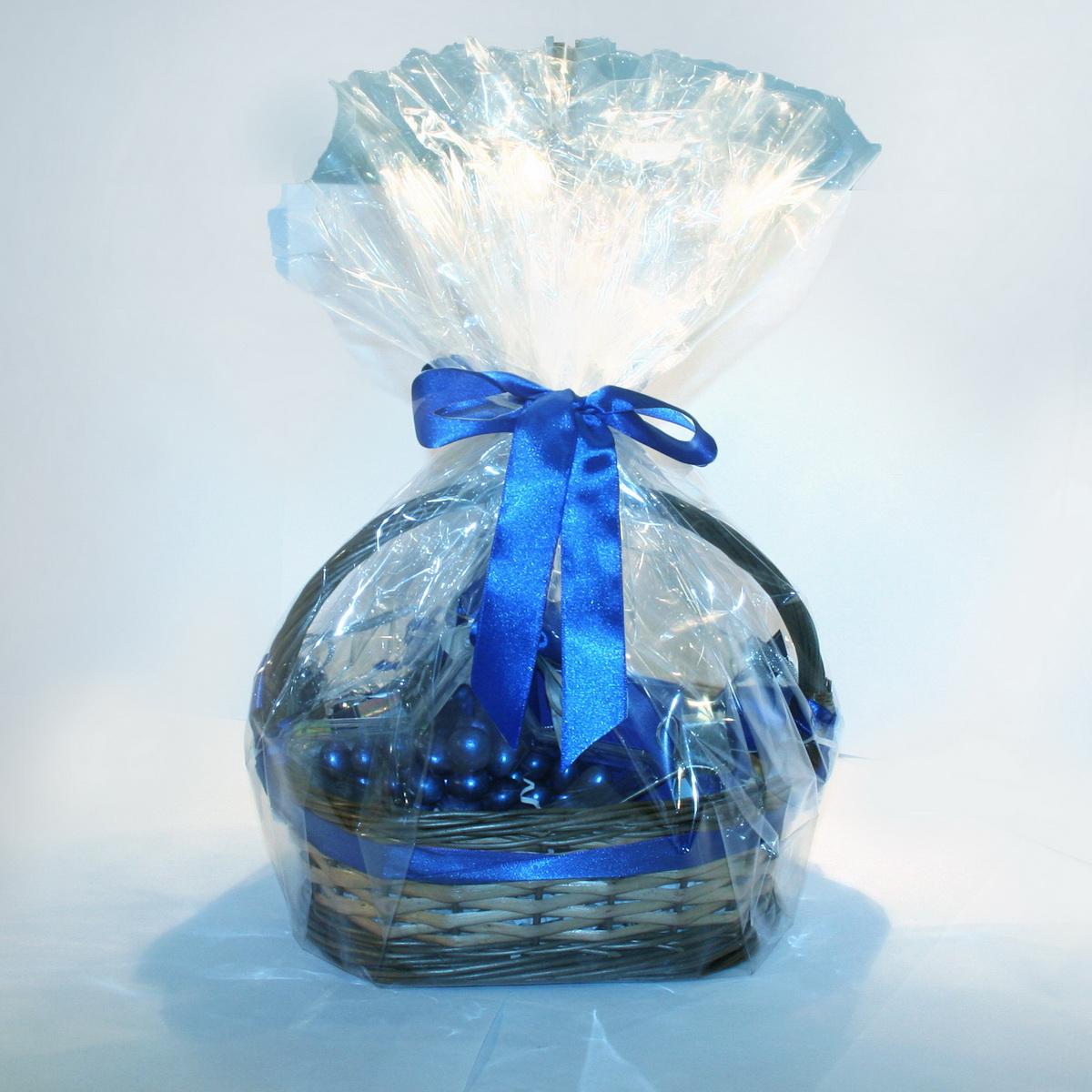 Продуктовая подарочная корзина - прекрасный корпоративный подарок коллегам, клиентам и партнерам