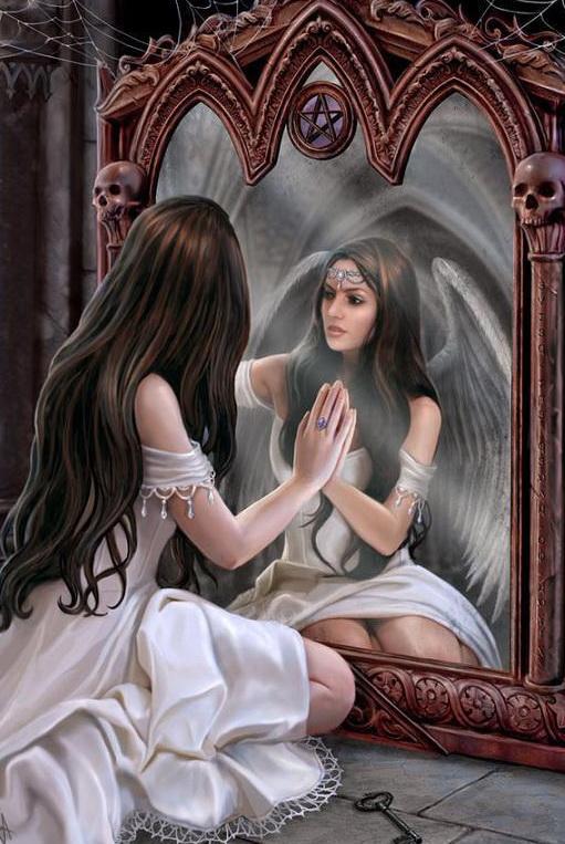 Подарить зеркало - народные приметы и суеверия